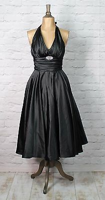 New Womens Party Cocktail Swing 50s Vintage Style Rockabilly Classy UK 6, 8