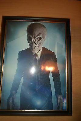 Doctor who The Silence framed print