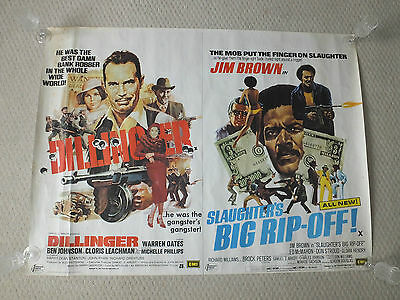 LOT of 6 vintage UK Quad Movie/Film Posters 1960's and 1970's