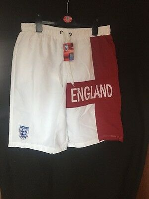 2 Pairs Of Mens England Shorts Bargain