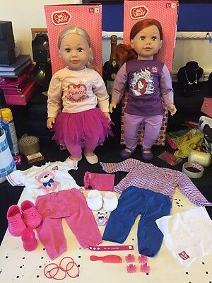 2 Molly And Friends Dolls + Extras