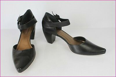 Open Court Shoes SAN MARINA Black Leather T 40 TOP CONDITION