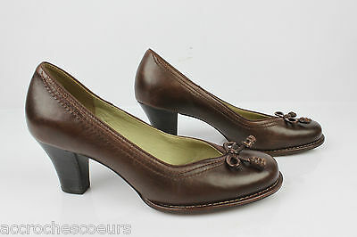 Court shoes CLARKS BOMBAY LIGHTS Brown Leather UK 4,5/FR 37,5
