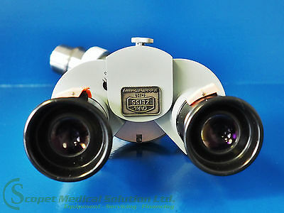 Carl Zeiss Microscope Optic f 125 with Adapter Piece