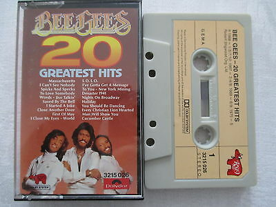 Bee Gees - 20 Greatest Hits - Polydor MC Cassette Musikkassette made in Germany