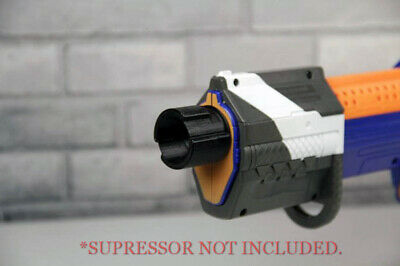 3D Printed – Alpha Trooper Suppressor Adapter for Nerf Dart Gun Blaster