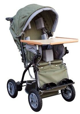 Childs Special Needs Medical Support Folding Stroller Wheelchair With Table 50Kg
