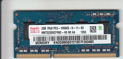NEW upgrade for laptops with existing 1.5V RAM - Hynix 2GB DDR3 1333 SODIMM