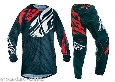 Fly Racing Kinetic Relapse - Motocross Hose (S) + Jersey (S)