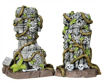 Lemax #03811 - SPOOKY TOWN - Ancient Statues - Table Accent - NIB