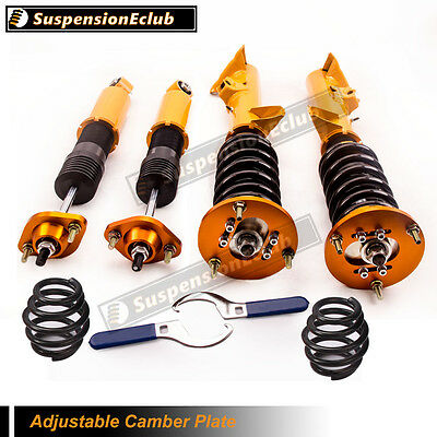 for BMW E36 3 Series Coilover Shock Absorber Struts Height Adjustable Kit SCB