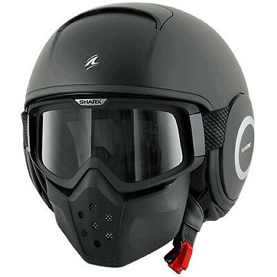 Casco Shark Raw Negro Mate   +++Talla S+++