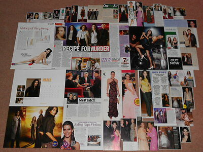 40+ ANGIE HARMON Magazine Clippings
