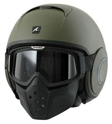 Casco Shark Raw Verde Mate   +++Talla M+++