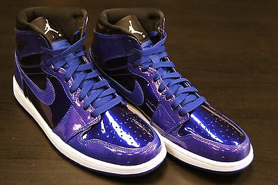 25dfc9d796f244  332550 420  New Men s Air Jordan 1 Retro High Space Jam Deep Royal Blue