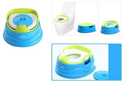 Girls Portable Foldable Travel Potty Chair Toilet Seat 2in1 For Baby Kids 4 Bags