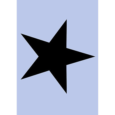 Star Stencil A5 Re - Usable Shabby Chic Airbrush French Wall Painting Craft 055