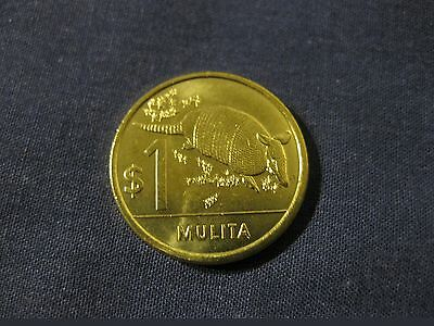 Uruguay 2012 1 Peso Armadillo coin  nice Uncirculated coin animal