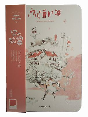Howl's Moving Castle Sophie Calcifer Ghibli Notepad Notebook Book Diary Journal