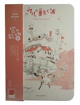 Howl's Moving Castle Sophie Calcifer Studio Ghibli Notepad Diary Journal