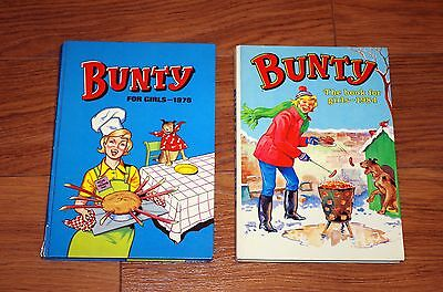 Bunty Annuals 1976 and 1984 (two)