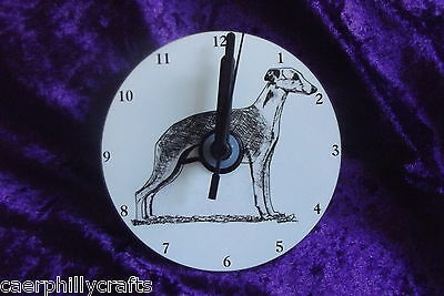 Whippet CD Clock by Curiosity Crafts
