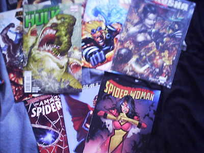 Marvel Comics Grab Bag. Hulk Spider-Man X-Men Thor Wolverine And Many Others