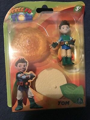 Cbeebies Tree Fu Tom 7.5Cm Figure And Magic Ball Accessory Collectible Toy Gift