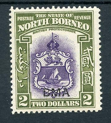 North Borneo 1945 $2 violet and olive-green SG333 MNH