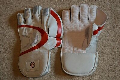 Red Ink Cricket Wicket Keeping Gloves Mens