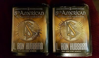 L Ron Hubbard Scientology 8th American Advanced Clinical Course Lectures - 2 Vol
