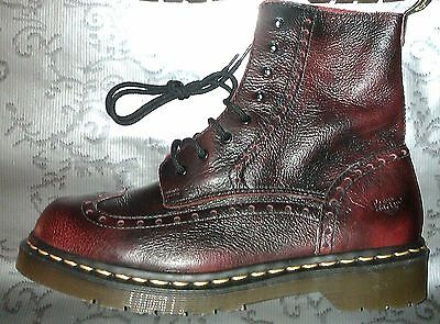 England Made 8 Uk 42 Pointure T Eu Riot Boots Dr . Doc Martens Chaussures Cuir