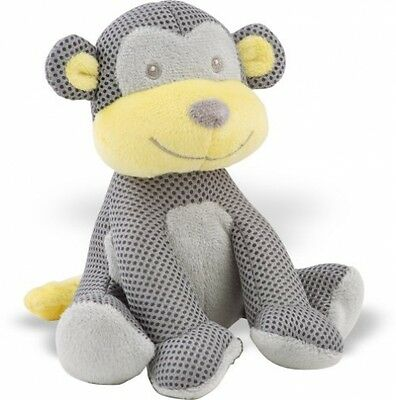 Baby First Soft Toy Monkey Newborn Cuddly Animal Friends Hypoallergenic Fabric