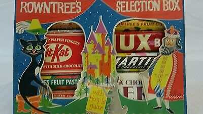 Rowntrees Dummy Bar Collection - Vintage Selection Box Rare