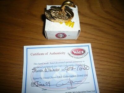Wade Gold Swan ,only 50 In The World