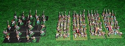 15mm ACW Confederate Infantry March/Attack-painted