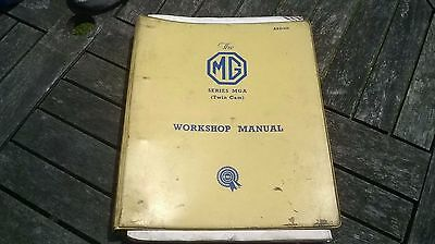 Mg Series Mga Twin Can Workshop Manual