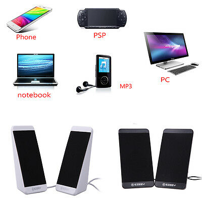 USB 2.0 3.5mm Jack Speakers Digital Sound Subwoofer for Computer Desktop Laptop
