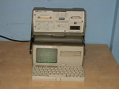 HP 4952 A Protocol Analyzer W/ 18160A  Interface W/ Opt. 002