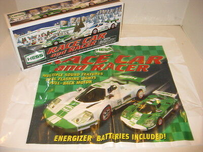 NEW in BOX Hess Race Car and Racer 2009  Original Box - Pristine New