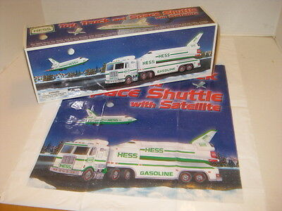 NEW in BOX Hess Toy Truck Space Shuttle 1999  Original Box - Pristine New