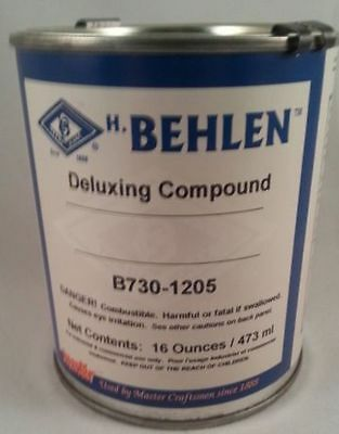 New Guitar Parts Deluxing Compound