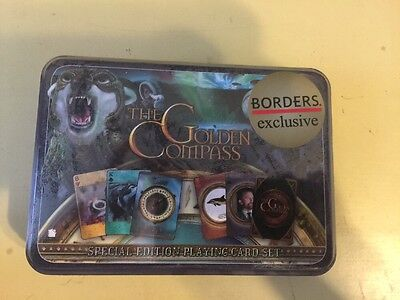 The Golden Compass Special Edition Playing Card Set NEW
