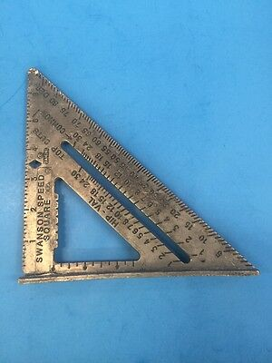 "Vintage Swanson Tool Co. 7"" Speed Squares_Made in USA_1987 (B2)"