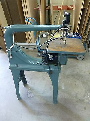 """VINTAGE WALKER TURNER 24"""" SCROLL SAW, EXCELLENT CONDITION, price lowered"""