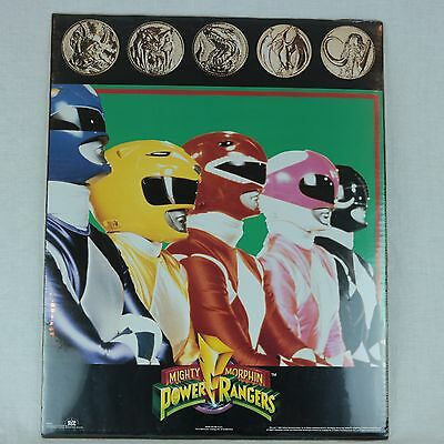 "Mighty Morphin Power Rangers 1994 Saban Entertainment Poster 16"" x 20"" SEALED!"