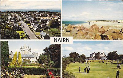 Nairn - Multiview Colour Postcard