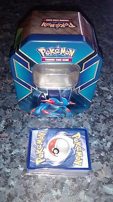 Pokemon bundle - 45 cards and Swampert collectors tin