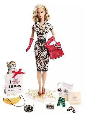 New In Box 2016 Charlotte Olympia Gold Label Barbie Doll SOLD OUT LE2700