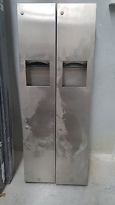 Paper Towel Dispenser And Waste Receptacle Retails For $1300 Each